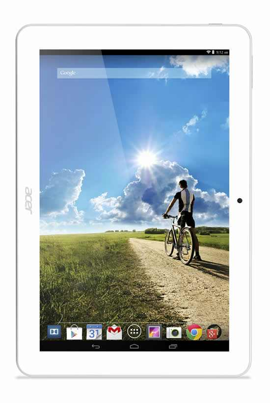 Sinematik ses sistemiyle Acer Iconia Tab 10