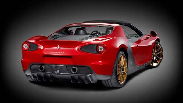 Ferrari'nin Konsept Otomobili Sergio