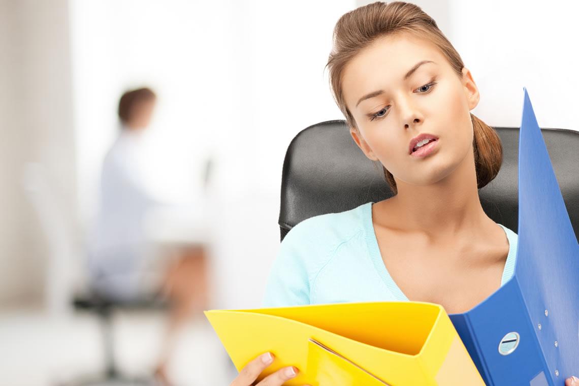 Büro çalışanlarının omurga sorunları