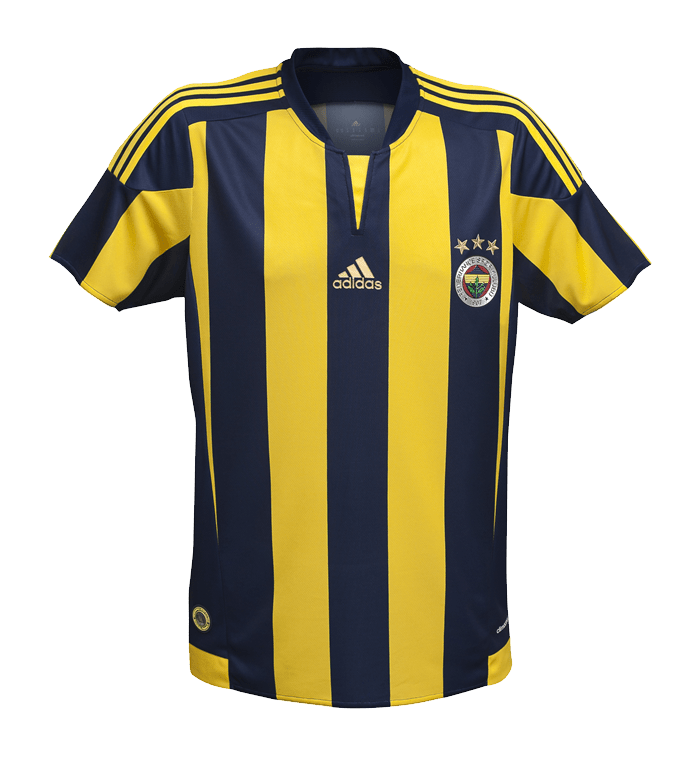 adidas 2015/16 Fenerbahçe Efsane Çubuklu Forma'nın taraftar için hazırlanan versiyonunda arka bölüm önemli bir yenilik olarak tamamen çubuklu olarak tasarlandı.