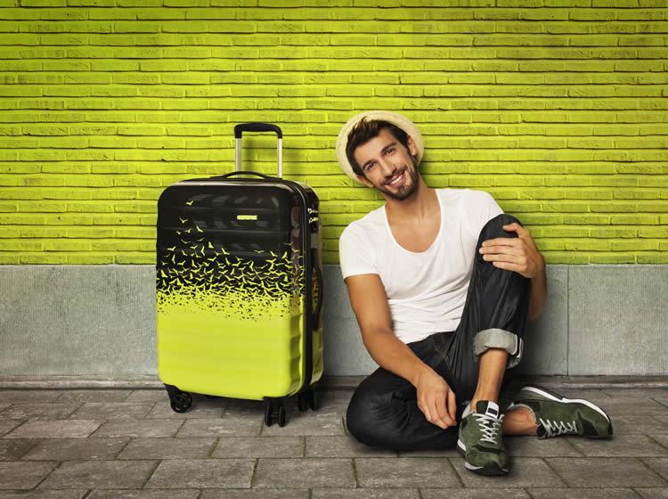 """bavullar """"kuşlar kadar özgür olmak"""" isteyenler için bir adım öne çıkıyor."""