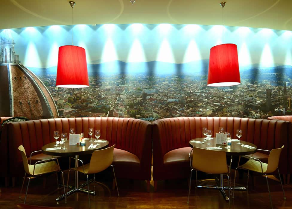 Carluccio's, yeni restoranını Atatürk Havalimanı'nda açtı.