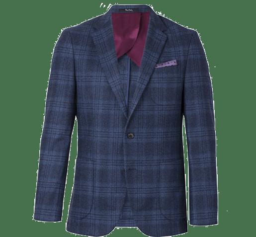 ceketler ve trikolar da kullanılan nopeler, şehrin şık erkeklerinin smart casual stilini destekliyor.