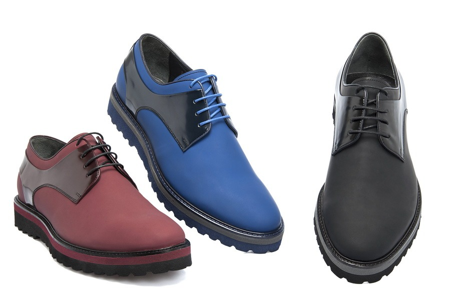 2015 Erkek ayakkabı modellerinde derilerin dokuları değişti!