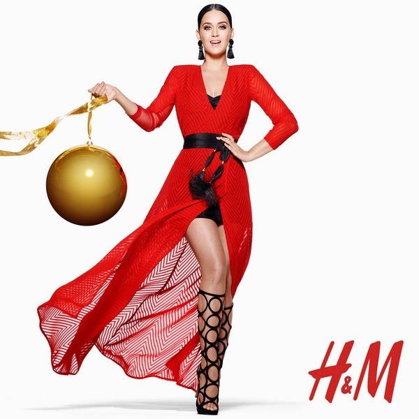 KATY PERRY MODA, SİHİR VE EĞLENCEYİ H&M'İN MUHTEŞEM YILBAŞI KAMPANYASINA TAŞIYOR
