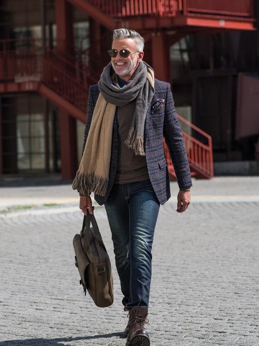 Spor ve rahat giyim kadar klasik giyimde de ağırlığını hissettiren ekose, Abdullah Kiğılı'nın 2015-16 Sonbahar Kış Koleksiyonu'nda başrolde.