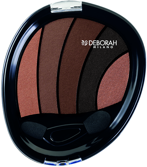 Dumanlı göz makyajı hiç bu kadar kolay olmamıştı. Deborah Milano'nun yeni konsept far paleti Smokey Eye Palette, her kadına renklerle oynama ve büyüleyici dumanlı gözler yaratma şansı veriyor