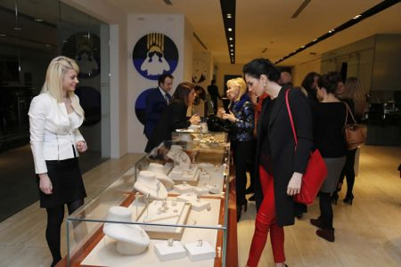 ARMAGGAN Mücevher Koleksiyonu, Sanat Şaheseri JaguarXJ'in Konuğu Oldu