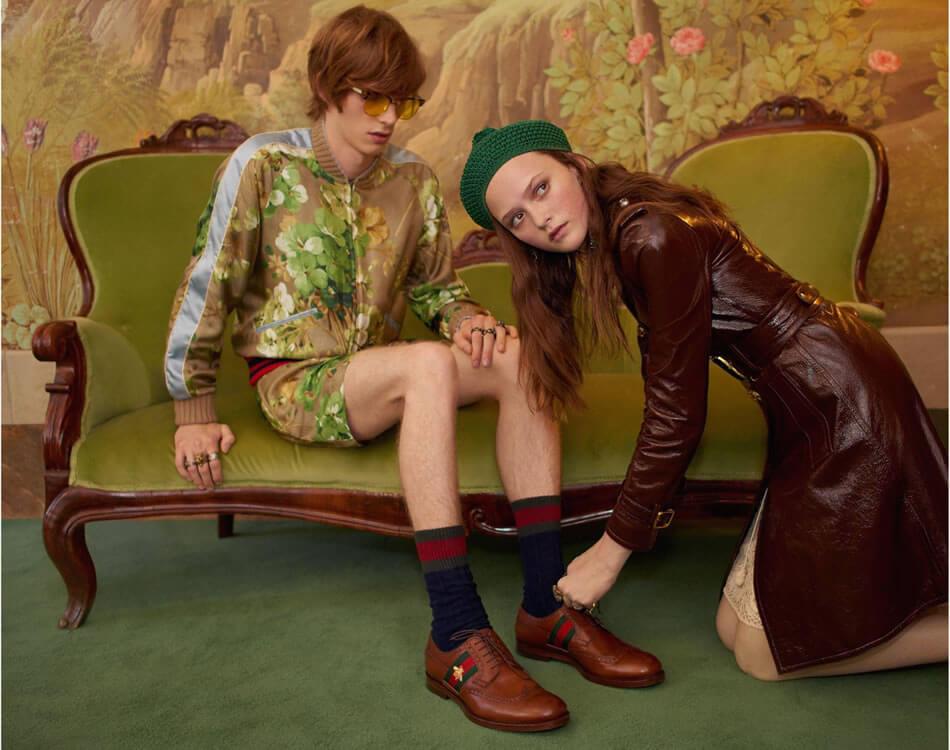 Gucci, Türkiyede moda tutkunları tarafından beğeni ile takip ediliyor.