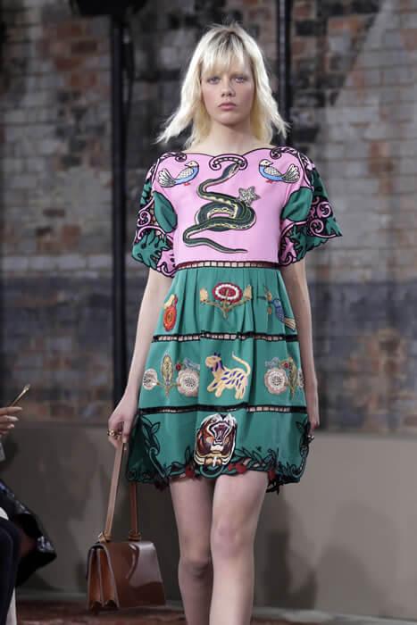 İtalyan dünya devi Gucci markası 2016 İlkbahar-Yaz Koleksiyonunu Harvey Nichols Kanyon ve Ankara şubelerinde moda severlerine sunuyor !