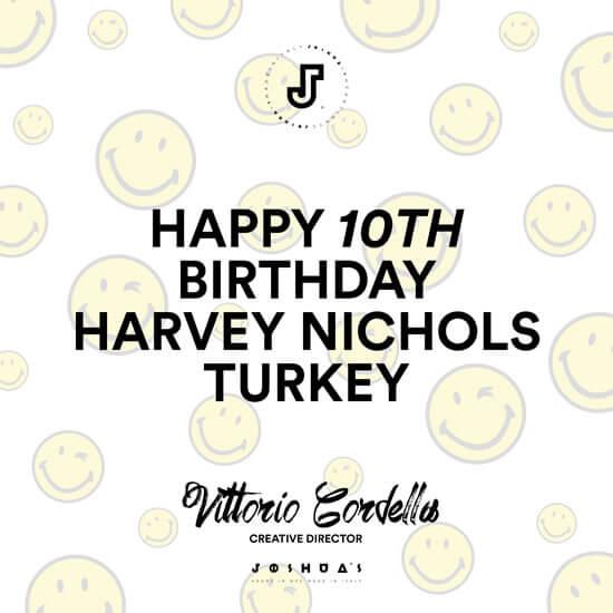 Ünlü Moda Markası Harvey Nichols'ten Son Haberler !