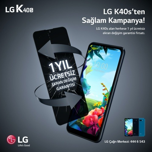 LG K40s ve LG K50s Telefon